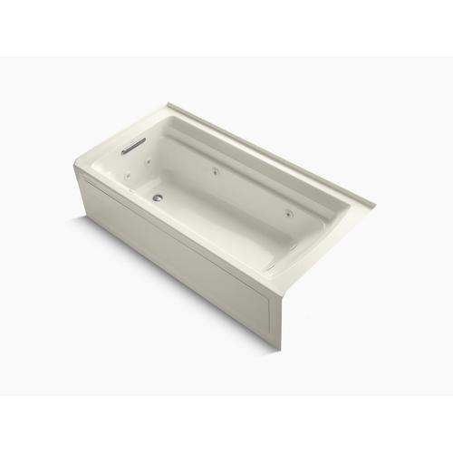 """Biscuit 72"""" X 36"""" Alcove Whirlpool With Integral Apron and Left-hand Drain"""