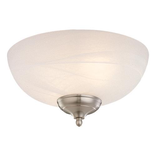 Light Kit - White Faux Alabaster