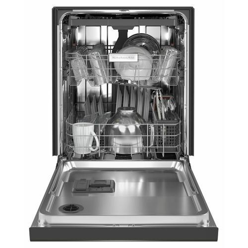KitchenAid - 39 dBA Dishwasher in PrintShield™ Finish with Third Level Utensil Rack - Black Stainless Steel with PrintShield™ Finish