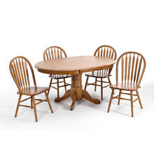 See Details - Classic Oak 42x60 Solid Oak Table Top
