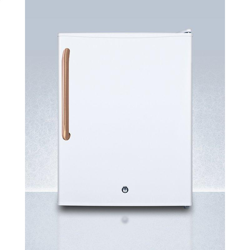 Compact Manual Defrost All-freezer for Medical/general Purpose Use, With Pure Copper Handle, Lock, and Factory-reversible Door