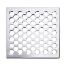"Satin Gold - PVD 6"" Square Shower Drain"