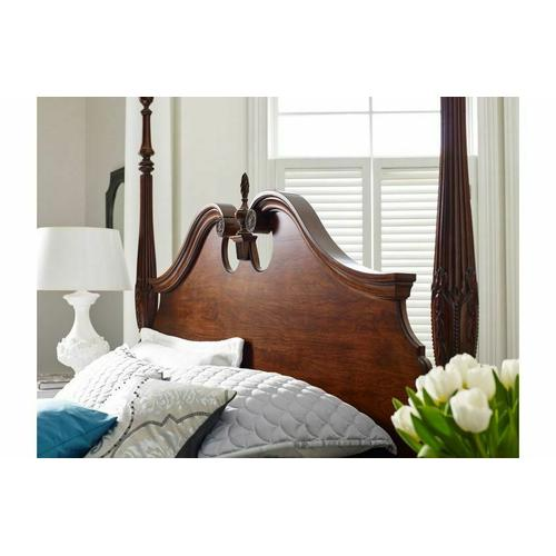 Gallery - Rice Carved Queen Bed - Complete