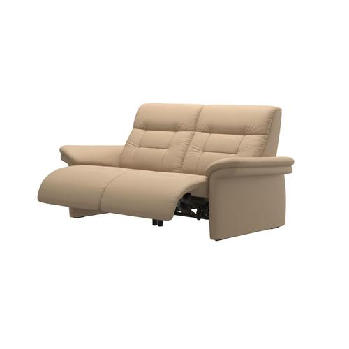 Stressless By Ekornes - Stressless® Mary 2 seater with 2 motors arm upholstered