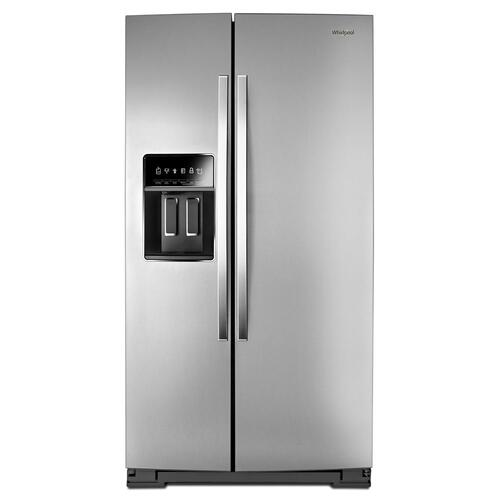 Product Image - 36-inch Wide Side-by-Side Counter Depth Refrigerator - 20 cu. ft.