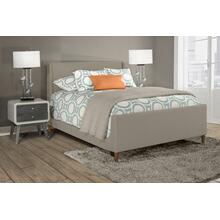 Denmark Headboard and Footboard - King - Dove Gray