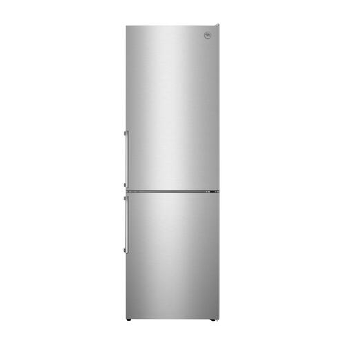 24 inch Freestanding Bottom Mount Refrigerator Stainless Steel