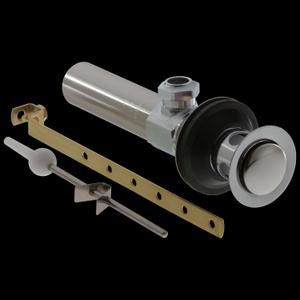 Matte Black Metal Drain Assembly - Less Lift Rod - Bathroom Product Image