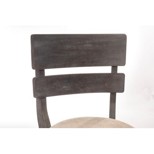 Hillsdale Furniture - Leclair Swivel Bar Height Stool, Wirebrush Brown Gray
