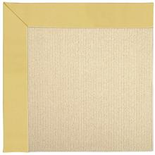 Creative Concepts-Beach Sisal Canvas Canary Machine Tufted Rugs