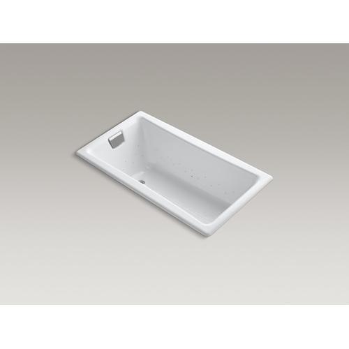 "White 60"" Heated Bubblemassage Air Bath"