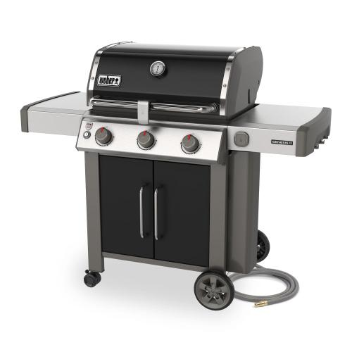Genesis II SE-315 Gas Grill - Black Natural Gas