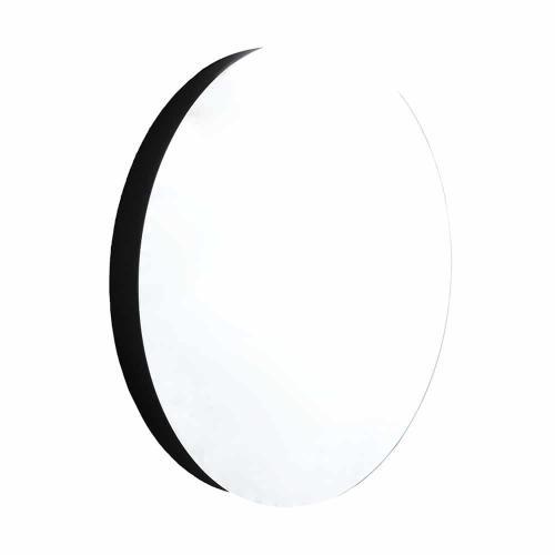 """22"""" Solace Mirror in Midnight Oak"""