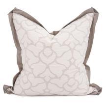 """20"""" x 20"""" Pillow Fleurs Linen - Down Fill"""