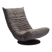 See Details - Down Low Swivel Chair Gray