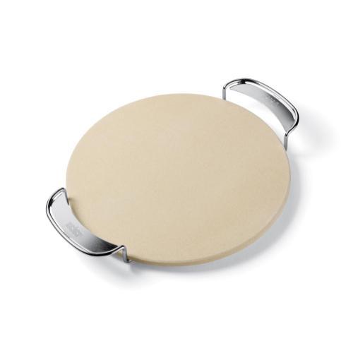 Weber - WEBER ORIGINAL - Pizza Stone With Carry Rack