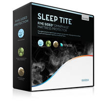 Five 5ided® Mattress Protector with Tencel® + Omniphase® Split King