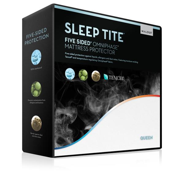 Five 5ided Mattress Protector with Tencel + Omniphase Queen