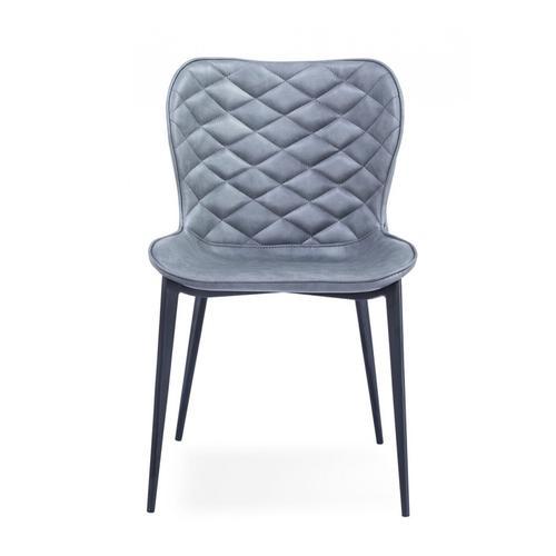 VIG Furniture - Modrest Felicia - Modern Grey & Black Dining Chair (Set of 2)