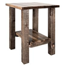 See Details - Homestead Collection Nightstand with Shelf, Stain and Lacquer Finish