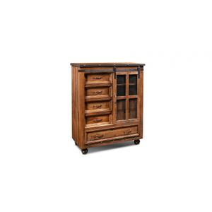 Horizon Home FurnitureUrban Rustic Barn Door Chest