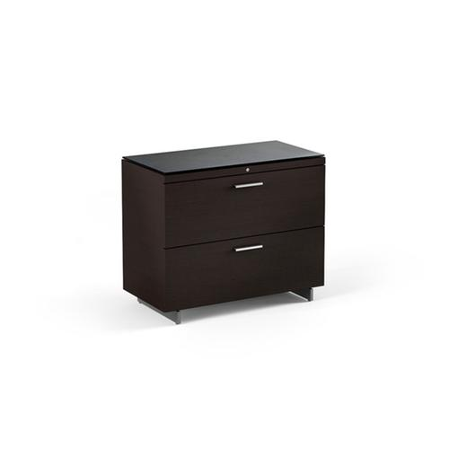 Lateral File Cabinet 6016 in Espresso