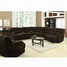 ACME Ahearn Sofa (Motion) - 50475 - Chocolate Champion