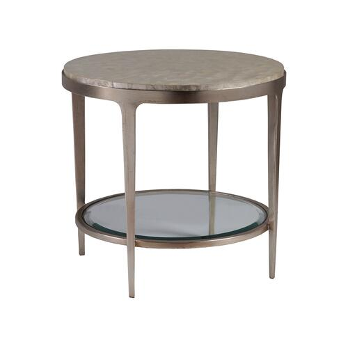 Gravitas Round End Table