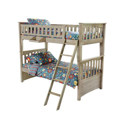 See Details - Chesapeake Sailboat Bunk in Brushed Driftwood Finish