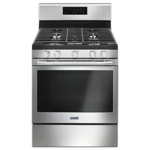 30-inch Wide Gas Range With 5th Oval Burner - 5.0 Cu. Ft. - FINGERPRINT RESISTANT STAINLESS STEEL