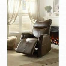ACME Riso Rocker Recliner - 59436 - Brown Leather-Aire