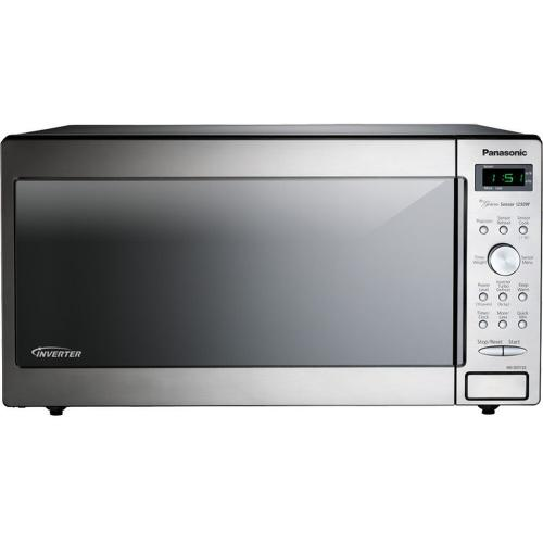 1.6 Cu. Ft. Countertop/Built-In Microwave with Inverter Technology NN-SD772S Stainless