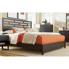 5/0 Queen Panel Bed - Dark Chocolate Finish