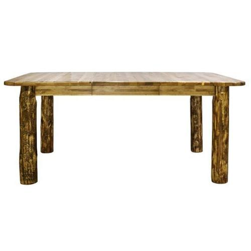 Glacier Country Collection 4 Post Dining Table with Leaves