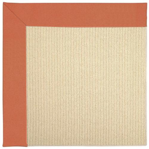 "Creative Concepts-Beach Sisal Canvas Melon - Rectangle - 24"" x 36"""