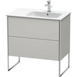 Vanity Unit Floorstanding, Nordic White Satin Matte (lacquer)