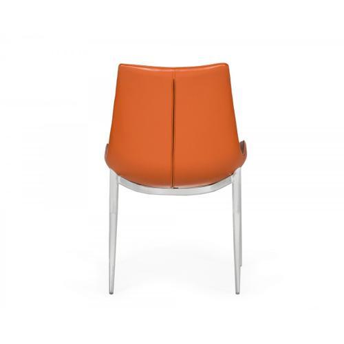 VIG Furniture - Modrest Holt - Modern Cognac Eco-Leather Dining Chair (Set of 2)
