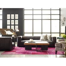 Rider Black Cover Nolita Reverse Stitch Sofa