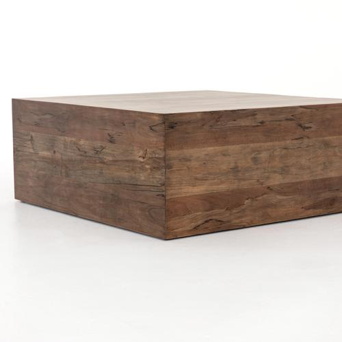 Spalted Alder Finish Habitat 2 Piece Sectional