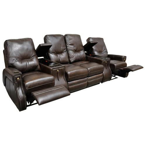 Omnia Furniture - Ride Theater Seating W/console Arm