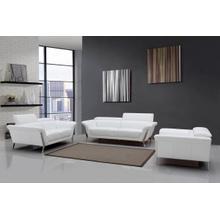 Product Image - Divani Casa Ronen Modern White Leather Sofa Set