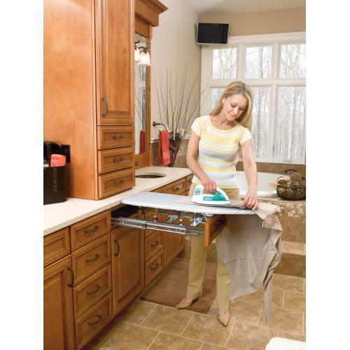 Rev-a-shelf - Rev-A-Shelf - VIB-20CR - Vanity Pullout Ironing Board