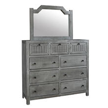See Details - Dresser \u0026 Mirror - Cloud Finish