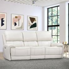 See Details - EMPIRE - VERONA IVORY Power Sofa