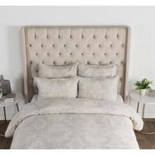 Luri Chambray Linen Gray Queen Set