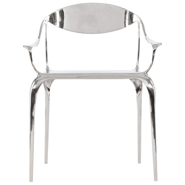 Vaughn Metal Arm Chair