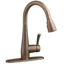 Quince 1-Handle Pull Down High-Arc Kitchen Faucet  American Standard - Oil Rubbed Bronze