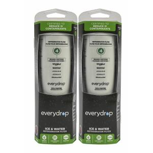 Amanaeverydrop® Refrigerator Water Filter 4 - EDR4RXD1 (Pack of 2) - 2 Pack