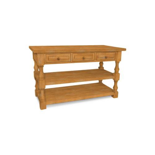 John Thomas Furniture - Tuscan Kitchen Island