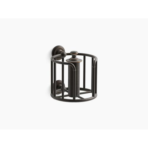 Oil-rubbed Bronze Toilet Paper Carriage